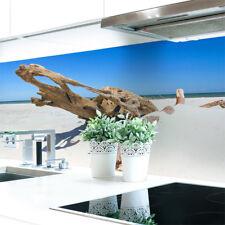 Küchenrückwand Baumstamm Strand  Premium Hart-PVC 0,4 mm selbstklebend