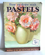 How To DRAW with PASTELS Hard & Soft Painting Pastels #6 Walter Foster FREE SH