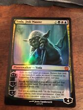 Yoda Jedi Master Lord Magic The Gathering MTG card Planeswalker Star Wars Sith