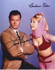I Dream of Jeannie (Larry Hagman & Barbara Eden) signed 8x10 photo