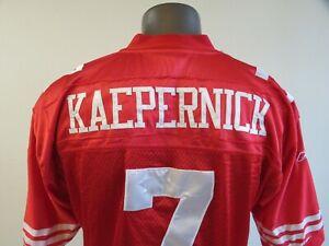 Reebok NFL Colin Kaepernick Jersey Mens Size 52 49ers Red White