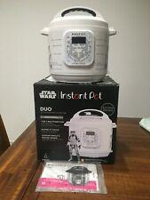 Star Wars Instant Pot  Pressure Cooker Darth Vader 6 QT. Rare Collectable