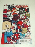 SPIDERMAN AMAZING #9 MARVEL COMICS YOUNG VARIANT JANUARY 2015