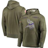NFL Minnesota Vikings Hooded Sweater Thicken Unisex Football Training Hoodie