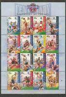AUSTRALIA - 1996  Australian Football League - MUH MINIATURE SHEET.