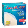 Aqua Clear 50 (200) Foam Filter Insert 3 Pack Filter Media A1394 Brand New!!!