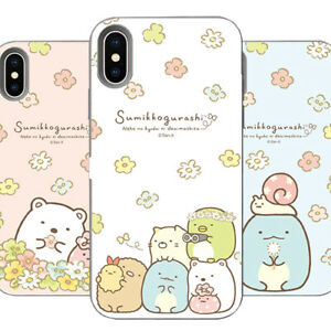 Genuine Sumikko gurashi Flower Card Bumper Case Galaxy Note 10/Note 10 Plus Case