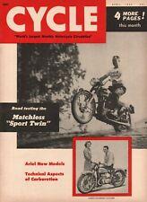 1955 April Cycle - Vintage Motorcycle Magazine