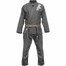 Venum Contender 2:0 BJJ Gi Grey Uniform Martial Arts Ju Jitsu Suit Jiu Training