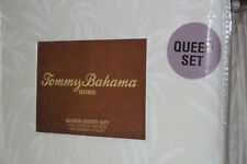 Tommy Bahama Tidal Breeze Queen Sheet Set New In Package