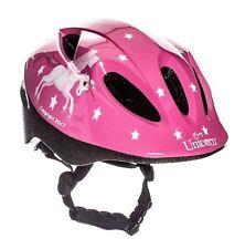 "Sport Direct ""flying Unicorn Bicycle Helmet Kids Girls Pink 48-52cm CE En1078 20"