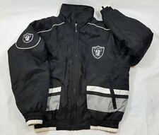 Vintage Los Angeles/oakland Raiders Men's M Black /Silver NFL Jacket