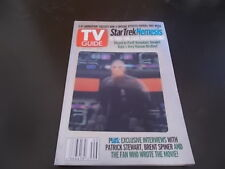 Star Trek: Nemesis - TV Guide Magazine 2002