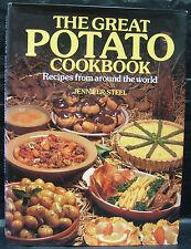 The Great Potato Cookbook by Jennifer Steel - Hardback (1989)