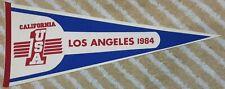 California USA #1 Los Angeles 1984 Full Size Pennant Summer Olympics?