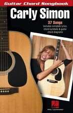 Carly Simon Guitar Chord Songbook LEARN TO PLAY Nobody Does it Better Music Book