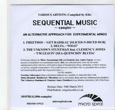 (GC945) Sequential Music sampler, compiled by Klis - 2015 DJ CD