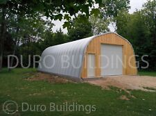 Durospan Steel 30x20x14 Metal Building Diy Home Kits Open Ends Factory Direct