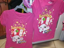 Pre Owned Lot Of 2 Girls Shirts blouses small 6 x 7 8shopkins