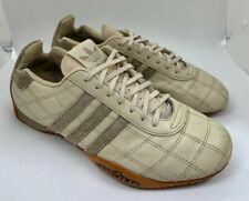 Adidas Tuscany Goodyear Driving Racing Shoes Cream White/ Grey Women Size 8