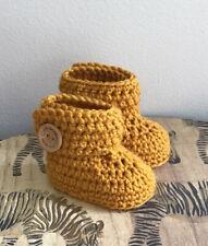 Baby Handmade Knitted Crochet Booties Shoes / Newborn-3 months