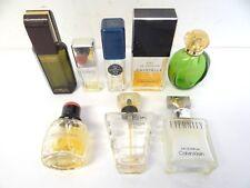 Lot Musk Perfume Fragrances Chanel Cristalle Paris Wes Saint Laurent Bottles