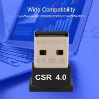 2.4Ghz Mini USB 2.0 Bluetooth 4.0 CSR 4.0 Dongle Adapter For Laptop Desktop PC