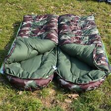 Waterproof Envelope Adult Warm Sleeping Bags Zip 3 Season Single Camping Hiking