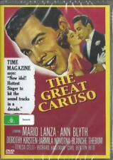 THE GREAT CARUSO - ENRICO CARUSO - MARIO LANZA - DVD - FREE LOCAL POST
