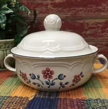 Covered Casserole Serving Soup Tureen Hearthside Cumberland BRAMBLEBERRY