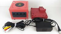 Nintendo GameCube Char Console & Game Boy Player Set Japan Rare #851