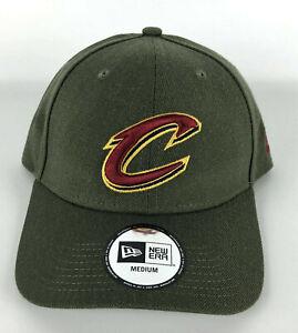 Cleveland Cavaliers Baseball Hat New Era 49Forty Green Red Logo Crisp - Medium