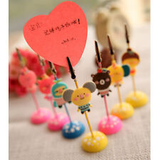 Cute Memo Holder Photo Picture Paper Note Clip Stand Place Card _S
