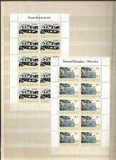 Kosovo UNMIK  Kleinbögen 26 und 27 postfrisch