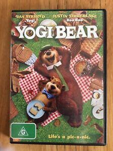 Yogi Bear - Region 4 DVD - Great Condition - FREE POST