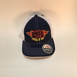 Blue Rock Pizza And Tap Fitted Trucker Cap Hat L/XL 7-3/8 - 8