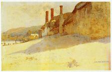 Porlock Weir, Charles Rennie Mackintosh, c.1896 10 x 12 inch ready mounted print