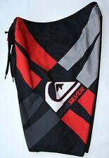 QUIKSILVER Red White Black Board Shorts Swimwear Mens 33