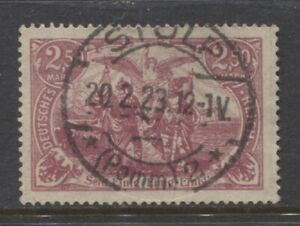 1920 GERMANY 2.50 Mark issue used signed,  STOLP