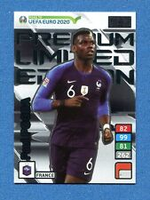 ROAD TO EURO 2020 -Adrenalyn Panini- Card LIMITED PREMIUM - POGBA - FRANCE