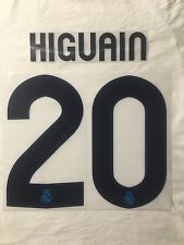 HIGUAÍN 20 Real Madrid Home UCL 2012/2013 Name Set