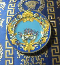 "VERSACE WALL PLATE DE LA MER 7"" /18cm 20 years celebration limited ed Retired"