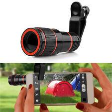 Black 8x Optical Zoom Camera Telescope Lens Universal For IPhone Samsung HD