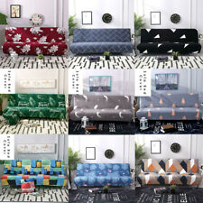 Replacement Home Sofa Bed Cover Home Folding Armless Elastic Fabric Futon Cover