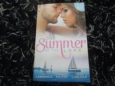 MILLS & BOON ONE SUMMER AT THE LAKE 3 IN 1 LIKE NEW 2016