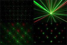 Show Laser für Party Club DJ Disco Keller Sternlaser rot/grün mit Fernbedienung