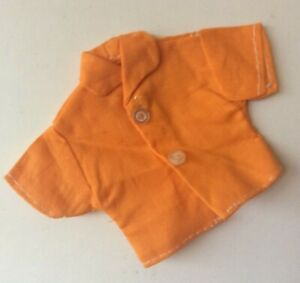 Attractive Orange Top for a fashion doll vintage dolls clothes