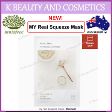 5 pieces x [INNISFREE] My Real Squeeze (OATMEAL) *NEW 2017! 20ml Oat Meal