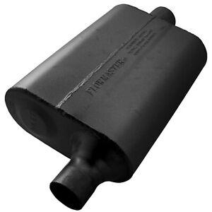 "Flowmaster 942041 40 Series Delta Flow Muffler 2"" Offset Inlet/Center Outlet"