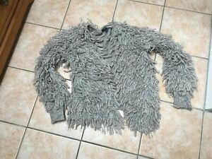 Primark Shaggy Wool Knit Cardigan BNWOT. UK Size M